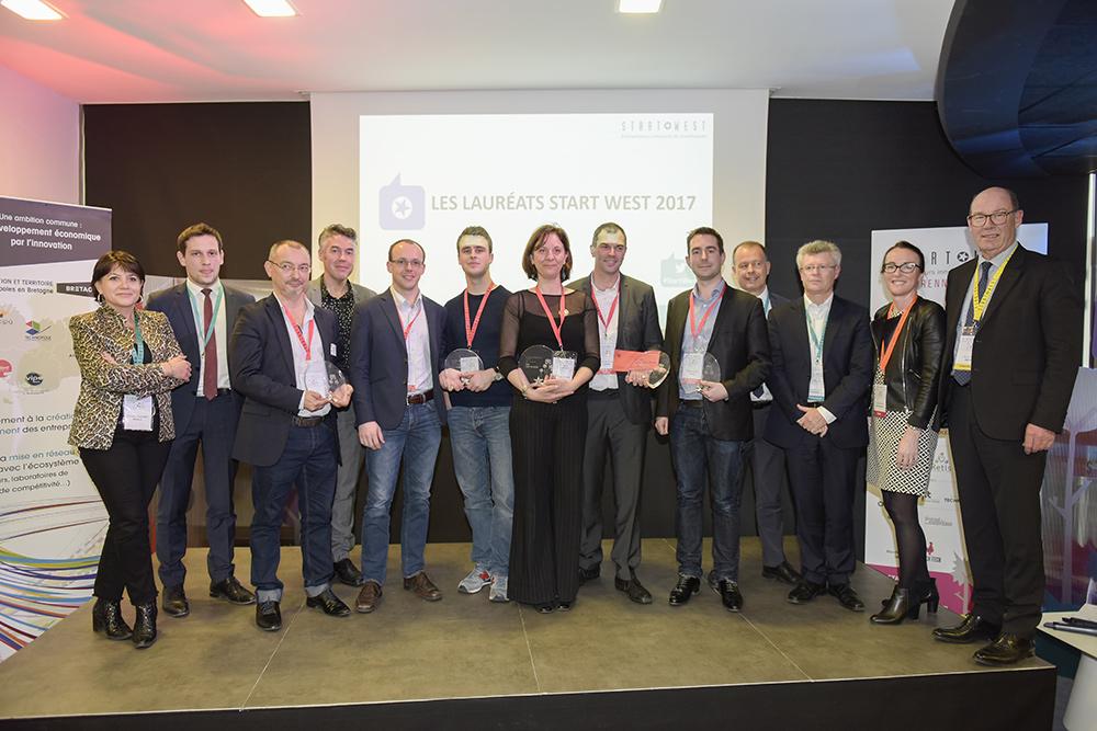 Cinq entrepreneurs innovants récompensés